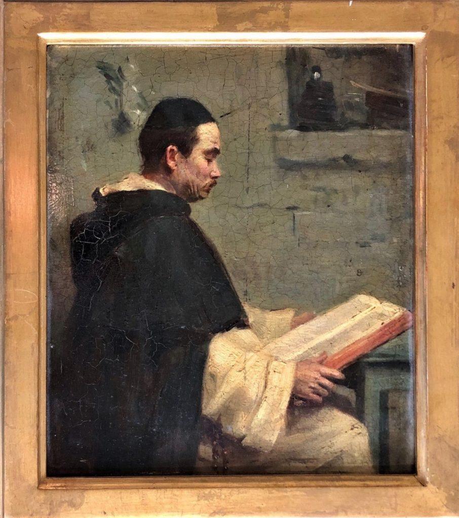 Portrait d'Un Dominicain, Alphonse Legros