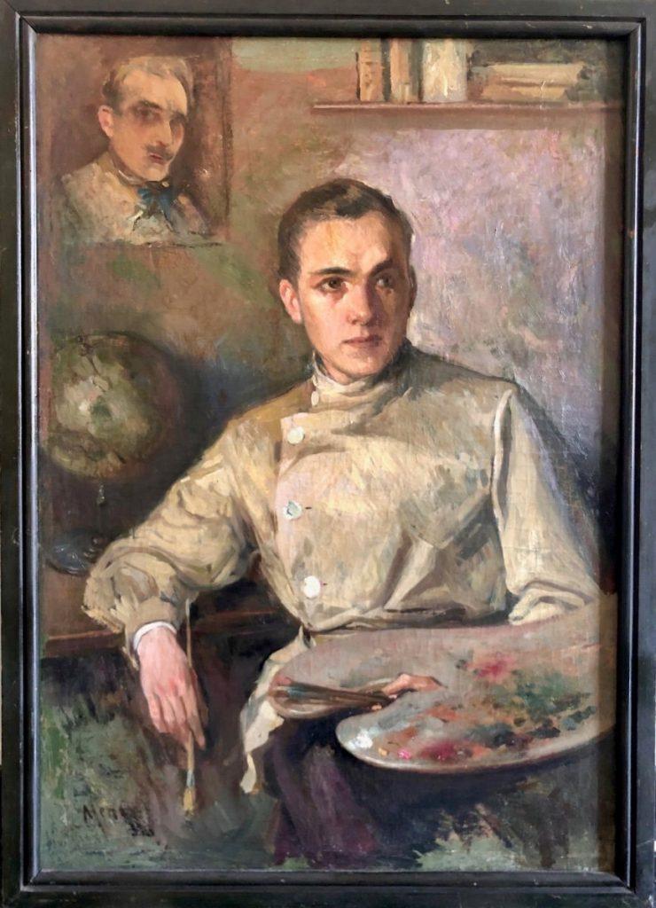 Portrait d'Un Jeune Peintre, Tableau Vers 1930