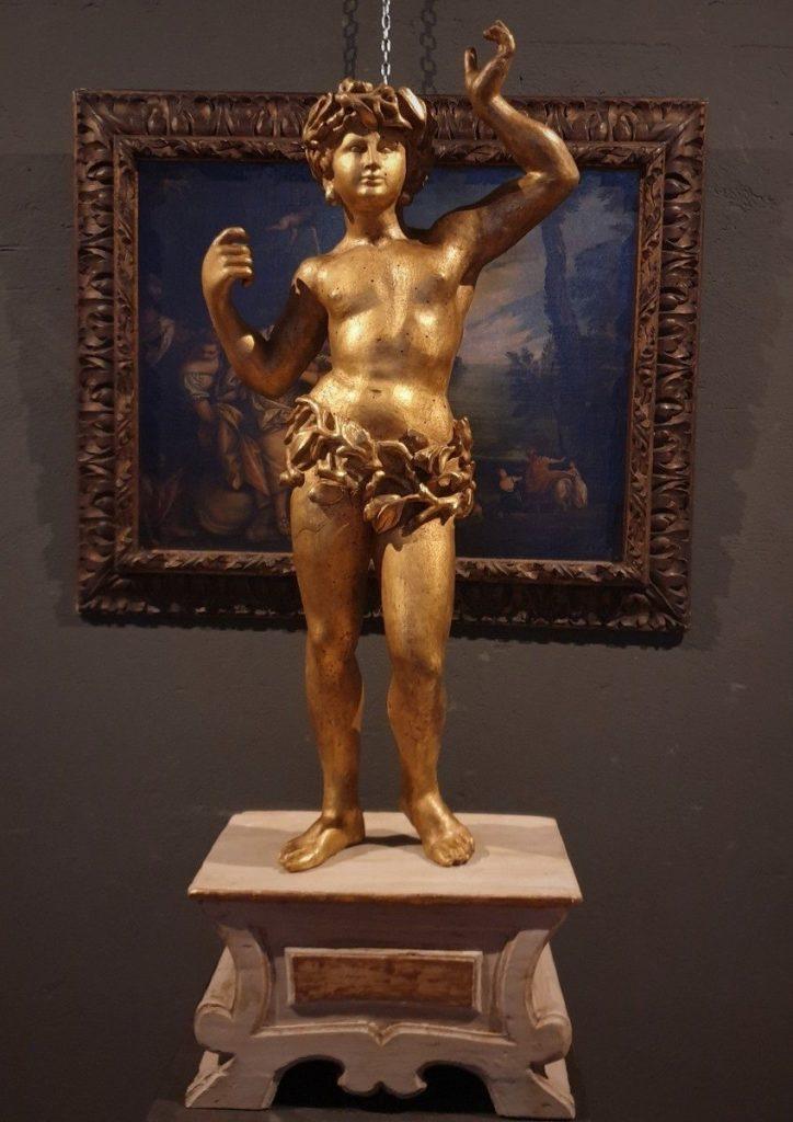 Sculpture Bois Dorè 18 ème Siècle